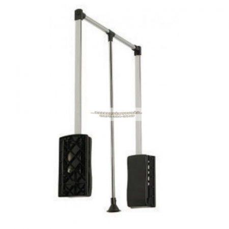Ruhalift 69-92cm fekete/króm