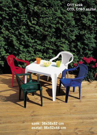 Kerti, műanyag gyermek szék