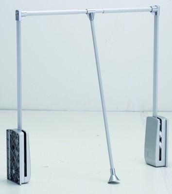 Ruhalift 89-125 cm ezüst/alu