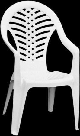 Kerti műanyag szék Oceán