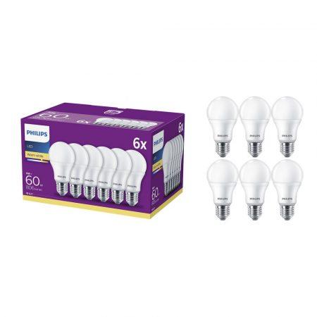 Philips 60W E27 806lm LED-es villanykörte