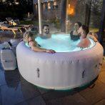 Spa Pool Paris felfújható masszázsmedence fűtéssel, LED-világítással