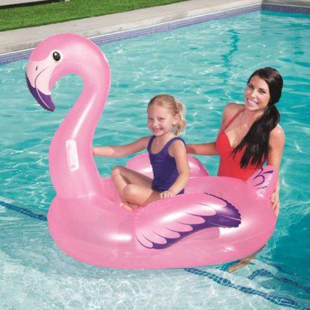 Flamingó felfújható vizi állat