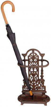 Öntöttvas esernyőtartó