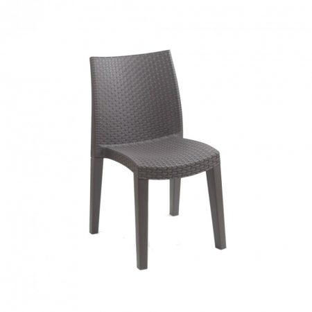 Rattan hatású műanyag szék