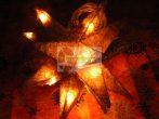 Rattan világító csillag, 20 ágú